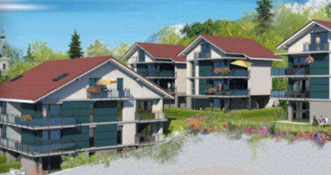 Achat / Vente programme immobilier neuf A deux pas du centre d'Aix-les-Bains (73100) - Réf. 5089
