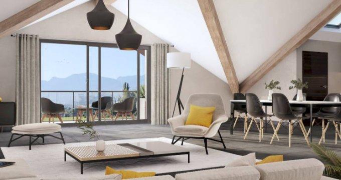 Achat / Vente programme immobilier neuf Amancy en pleine nature-vue montagne (74800) - Réf. 4493