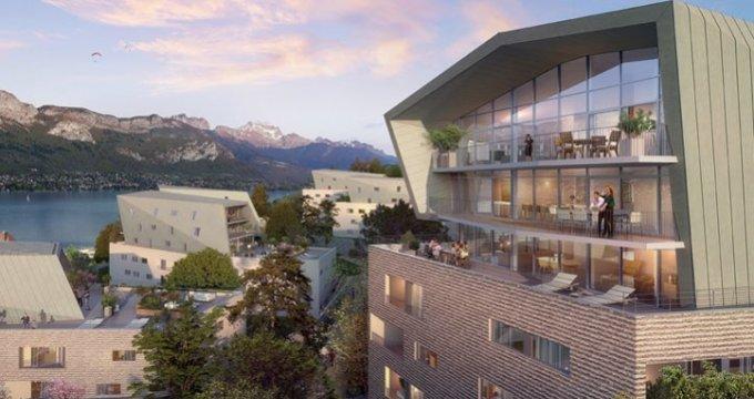 Achat / Vente programme immobilier neuf Annecy face au lac (74000) - Réf. 909