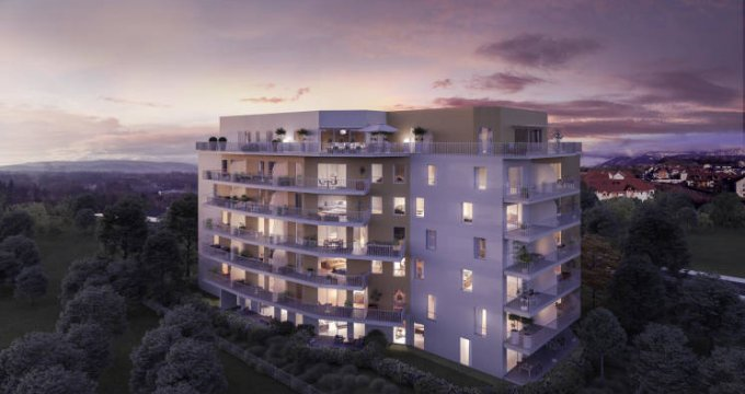 Achat / Vente programme immobilier neuf Annecy proche Annecy-le-Vieux (74000) - Réf. 4515