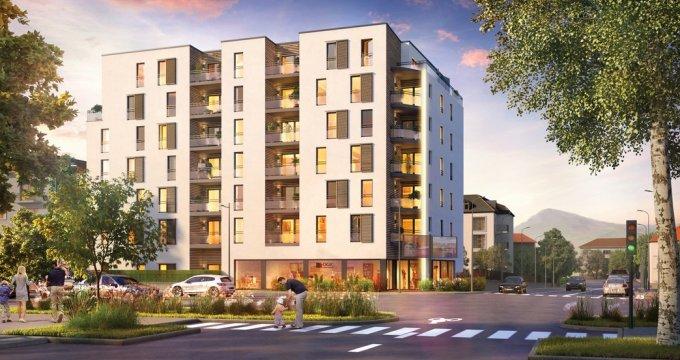 Achat / Vente programme immobilier neuf Annecy proche quartier Romain (74000) - Réf. 2011