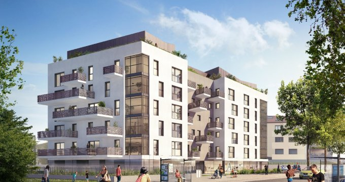Achat / Vente programme immobilier neuf Annecy quartier Vallin-Fier (74000) - Réf. 1071