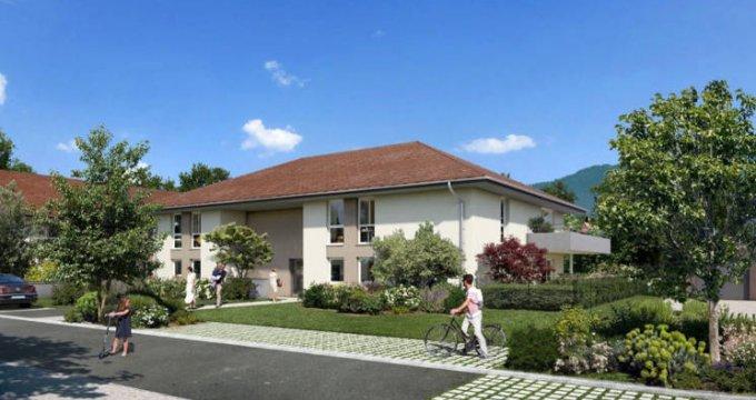 Achat / Vente programme immobilier neuf Beaumont au cœur du quartier La Châble (74160) - Réf. 4828