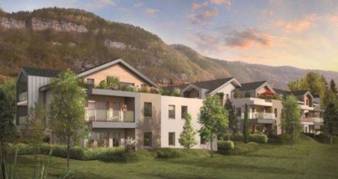 Achat / Vente programme immobilier neuf Beaumont proche centre (74160) - Réf. 2950