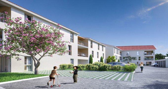 Achat / Vente programme immobilier neuf Béligneux à 200m de la gare de la Valbonne (01360) - Réf. 5522
