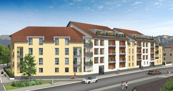 Achat / Vente programme immobilier neuf Bonneville plein centre proche préfecture (74130) - Réf. 5177