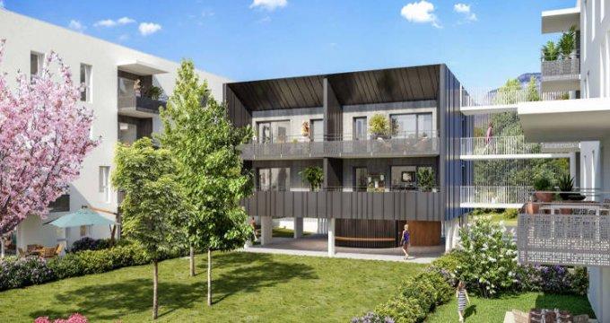 Achat / Vente programme immobilier neuf Challes-les-Eaux à 10 min du centre écrin de verdure (73190) - Réf. 5142