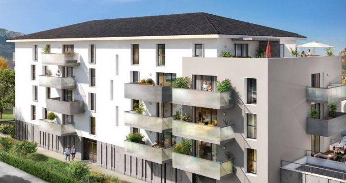 Achat / Vente programme immobilier neuf Cluses proche parc des Esserts (74300) - Réf. 4229