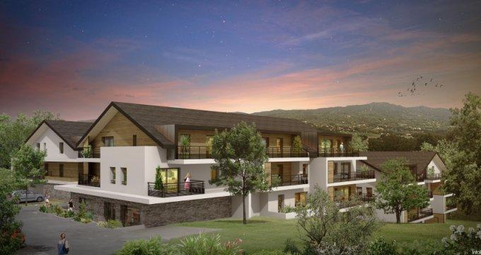 Achat / Vente programme immobilier neuf Cranves-Sales entre calme et commodités (74380) - Réf. 1385