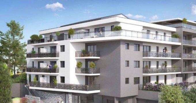 Achat / Vente programme immobilier neuf Cruseilles à 500 mètres du centre-ville (74350) - Réf. 5557
