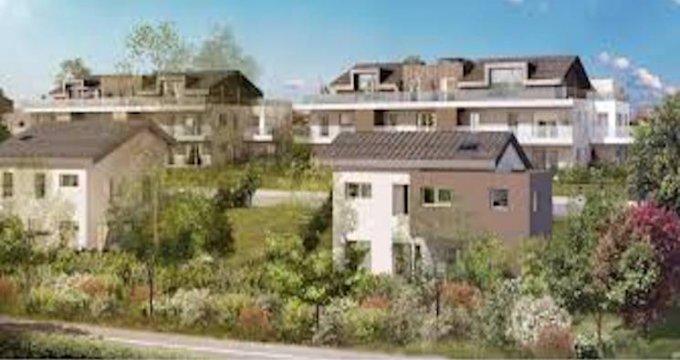 Achat / Vente programme immobilier neuf Cruseilles proche centre-ville (74350) - Réf. 5021