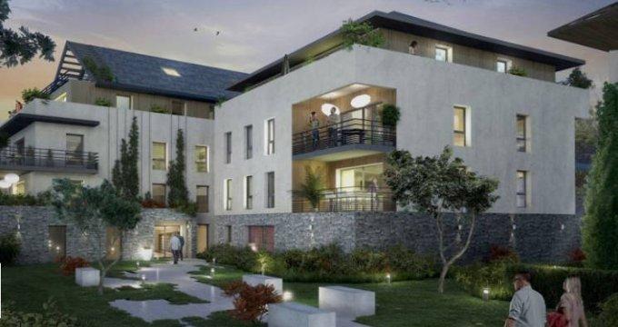 Achat / Vente programme immobilier neuf Divonne-les-Bains cœur de ville (01220) - Réf. 3999