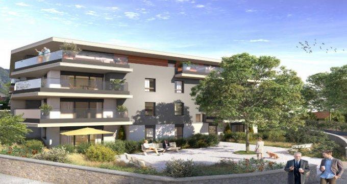 Achat / Vente programme immobilier neuf Etrembières à moins de 20min du Jet d'Eau (74100) - Réf. 5762