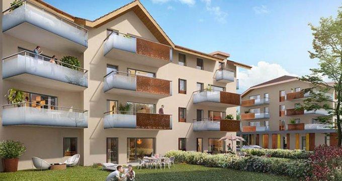 Achat / Vente programme immobilier neuf Faverges Seythenex proche lac d'Annecy (74210) - Réf. 2267