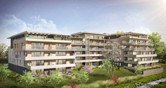 Achat / Vente programme immobilier neuf Ferney-Voltaire rue Versoix (01210) - Réf. 1834