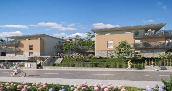 Achat / Vente programme immobilier neuf Jassans-Riottier à 10 minutes de la gare (01480) - Réf. 4348