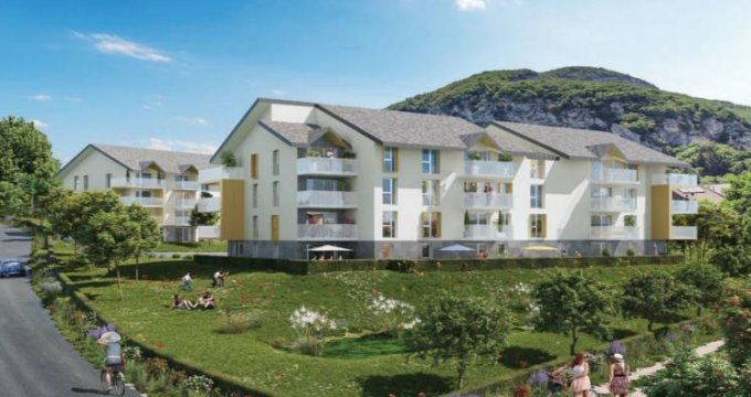 Achat / Vente programme immobilier neuf La Balme de Sillingy au pied de la Mandallaz (74330) - Réf. 4388