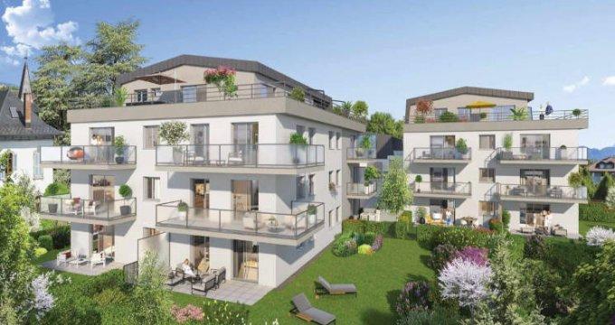 Achat / Vente programme immobilier neuf La Roche-sur-Foron lisière centre-ville (74800) - Réf. 5022