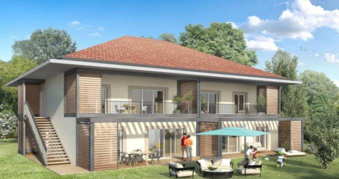 Achat / Vente programme immobilier neuf Lathuile hameau de Chaparon (74210) - Réf. 3100