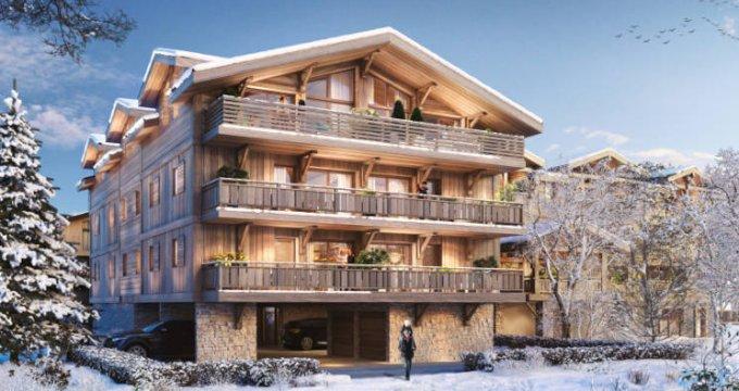 Achat / Vente programme immobilier neuf Les Gets proche coeur de ville (74260) - Réf. 5918