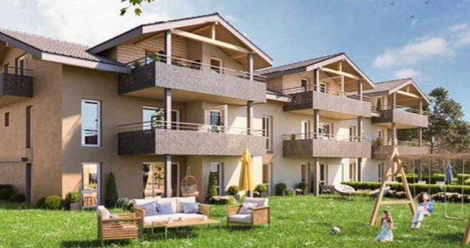 Achat / Vente programme immobilier neuf Margencel à 5 minutes du centre (74200) - Réf. 2927