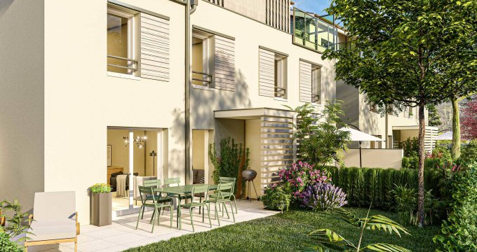 Achat / Vente programme immobilier neuf Marnaz entre le centre-bourg et les rives de l'Arve (74460) - Réf. 6163