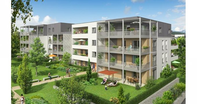Achat / Vente programme immobilier neuf Metz-Tessy au nord-ouest Annecy (74370) - Réf. 3954