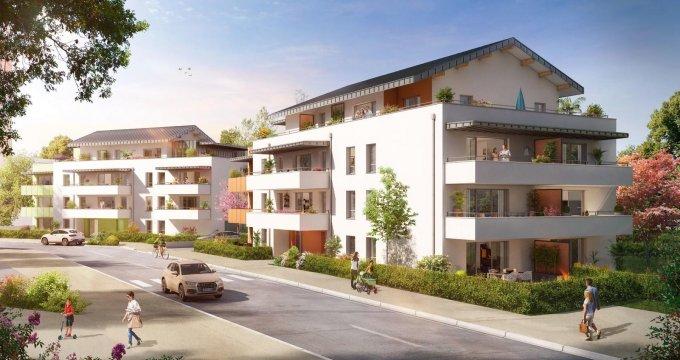 Achat / Vente programme immobilier neuf Publier/ Amphion-les-bains proche Suisse (74500) - Réf. 2795