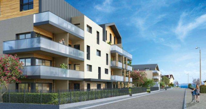 Achat / Vente programme immobilier neuf Publier proche du port (74500) - Réf. 5796