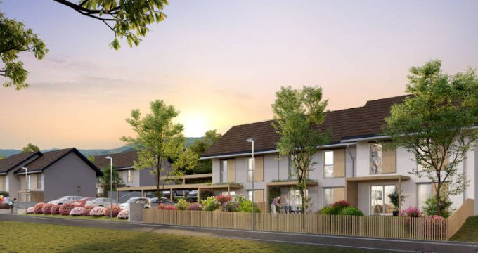 Achat / Vente programme immobilier neuf Saint-Cergues proche centre-ville (74140) - Réf. 5063
