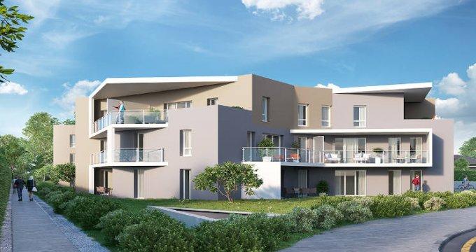 Achat / Vente programme immobilier neuf Saint-Genis-Pouilly centre ville (01630) - Réf. 3597