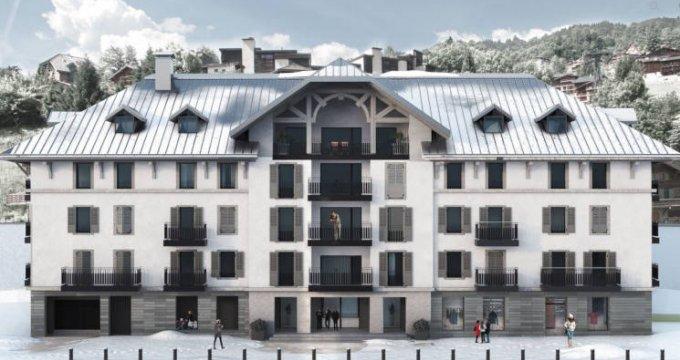 Achat / Vente programme immobilier neuf Saint-Gervais-les-Bains au pied de la télécabine du Bettex (74170) - Réf. 3013