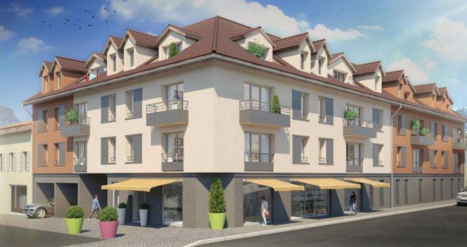 Achat / Vente programme immobilier neuf Sallanches à 15 minutes de Megève (74700) - Réf. 2183