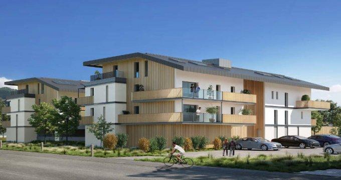 Achat / Vente programme immobilier neuf Sallanches cœur quartier pavillonnaire (74700) - Réf. 3089