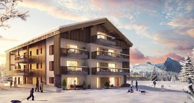 Achat / Vente programme immobilier neuf Samoëns Etteley (74340) - Réf. 5061
