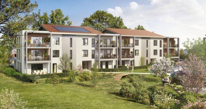 Achat / Vente programme immobilier neuf Segny proche frontières suisses (01170) - Réf. 6167