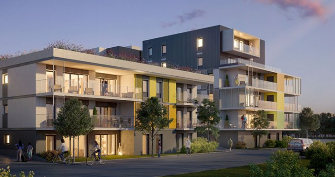 Achat / Vente programme immobilier neuf St Genis Pouilly, Rond point du Cern (01630) - Réf. 1107