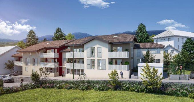 Achat / Vente programme immobilier neuf Thonon-les-Bains proche port (74200) - Réf. 5902