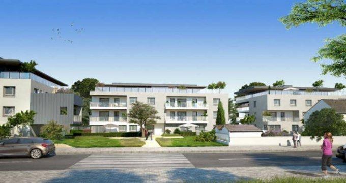 Achat / Vente programme immobilier neuf Veigy-Foncenex proche centre (74140) - Réf. 4508
