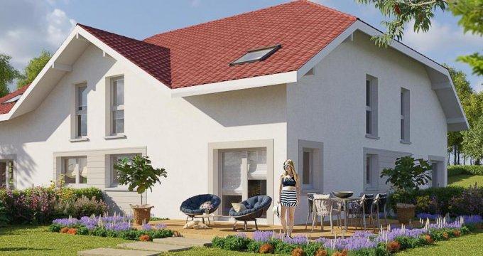 Achat / Vente programme immobilier neuf Vétraz-Monthoux proche d'Annemasse (74100) - Réf. 2198