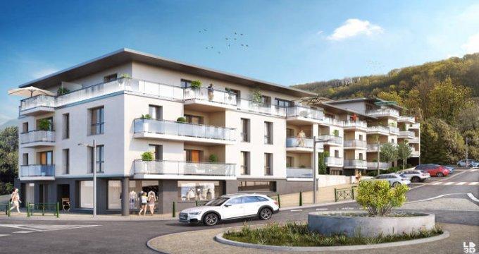 Achat / Vente programme immobilier neuf Voglans entre lac et montagne (73420) - Réf. 4516