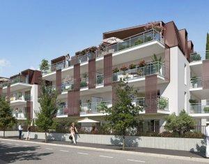 Achat / Vente programme immobilier neuf Aix-les-bain à proximité du petit port de la ville balnéaire (73100) - Réf. 1126