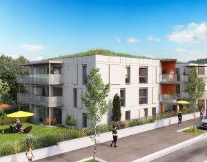 Achat / Vente programme immobilier neuf Aix-les-Bains proche du lac (73100) - Réf. 1912