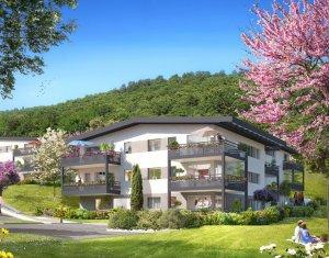 Achat / Vente programme immobilier neuf Aix-les-Bains, un écrin de verdure proche du lac (73100) - Réf. 1934
