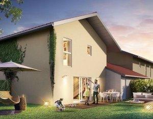 Achat / Vente programme immobilier neuf Allinges villas mitoyennes au cœur du village (74200) - Réf. 1125