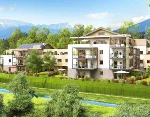 Achat / Vente programme immobilier neuf Annecy-le-Vieux coeur de ville (74940) - Réf. 685