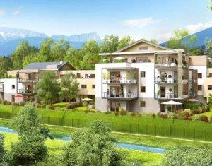 Achat / Vente programme immobilier neuf Annecy-le-Vieux face à la forêt (74940) - Réf. 1063