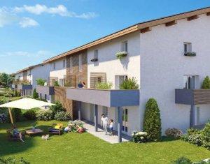 Achat / Vente programme immobilier neuf Anthy-sur-Léman à 500 mètres du lac (74200) - Réf. 4983