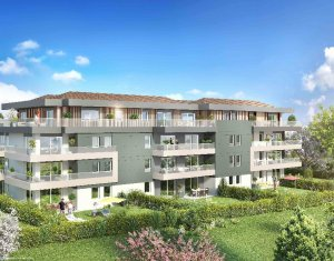 Achat / Vente programme immobilier neuf Argonay proche Annecy (74370) - Réf. 917