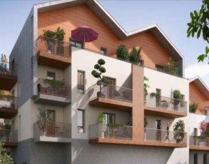 Achat / Vente programme immobilier neuf Bonneville écoquartier du château des Sires de Faucigny (74130) - Réf. 2961